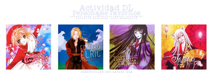 Actividad #10 'Personajes Favoritos'