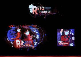 Rin Tohsaka | Reto Tsundere by JessxFlyller