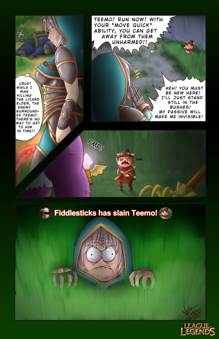 LoL - comic contest entry by TheNekoStar