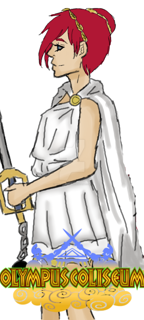 Kairi in Olympus by Hinatagirlie