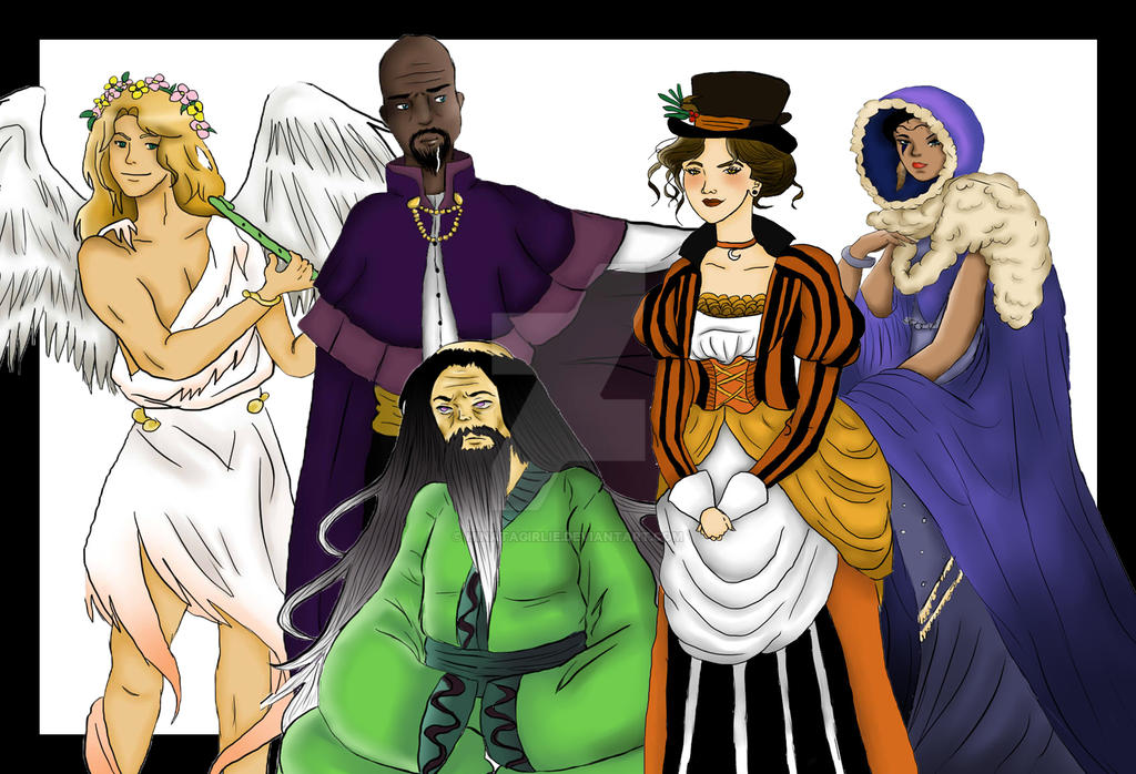 Grand Council of Zandilia by Hinatagirlie