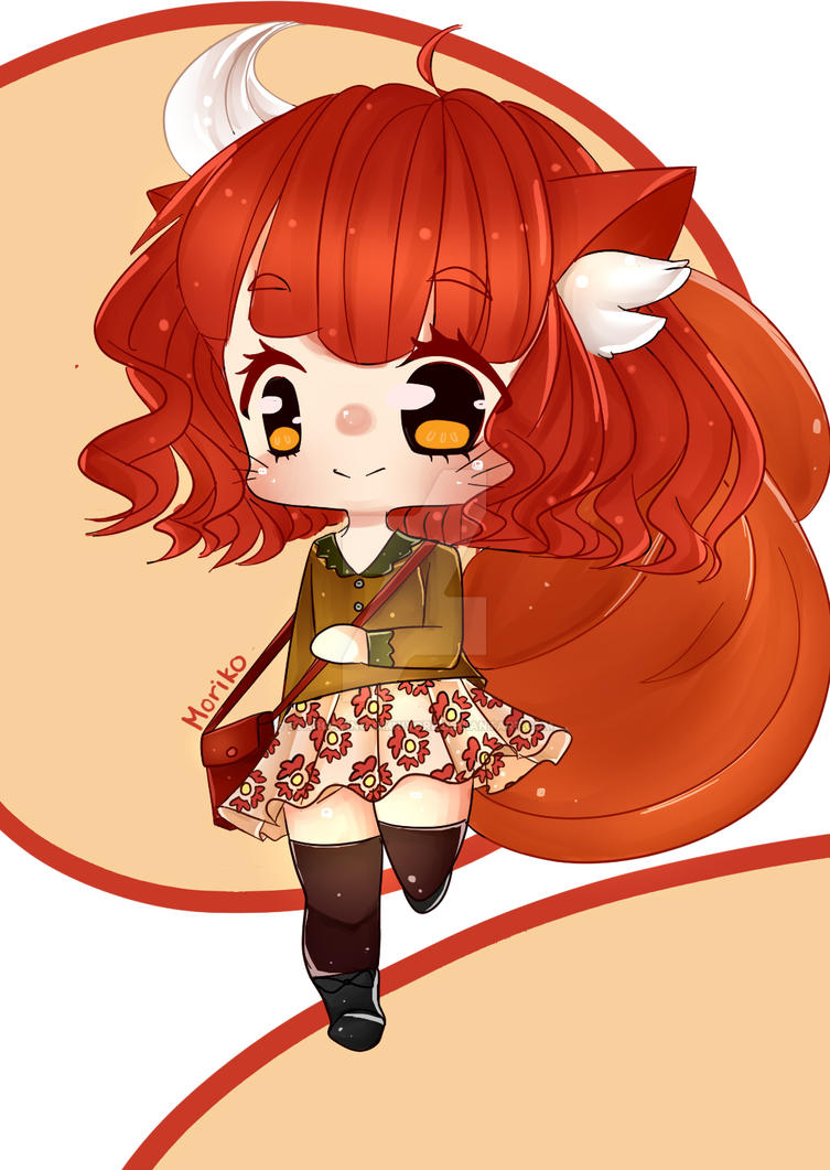 Fall Fox ^_^ by Stargazing-Omnivore