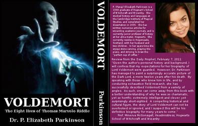 Voldemort biography - mock book cover