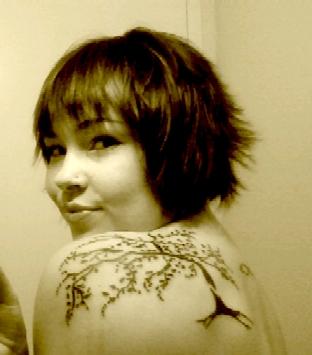 Tree - shoulder tattoo