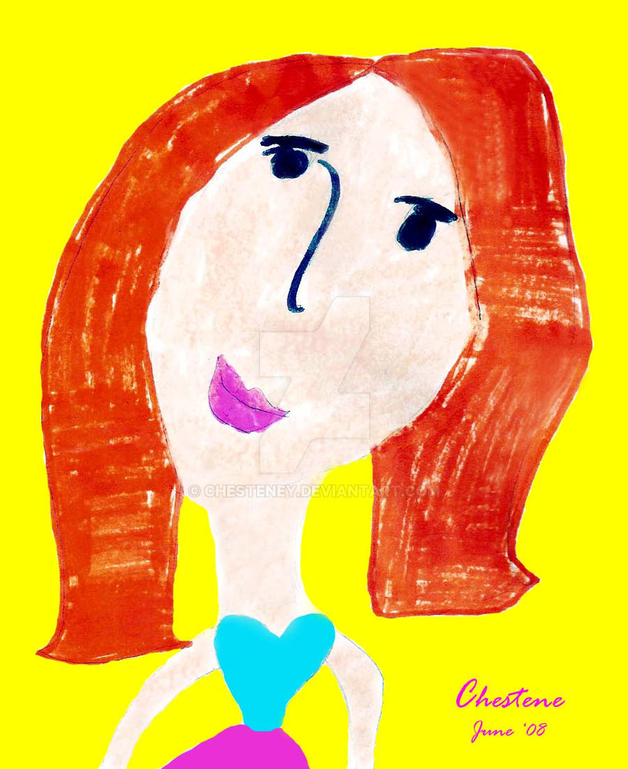Little Miss Redhead by chesteney