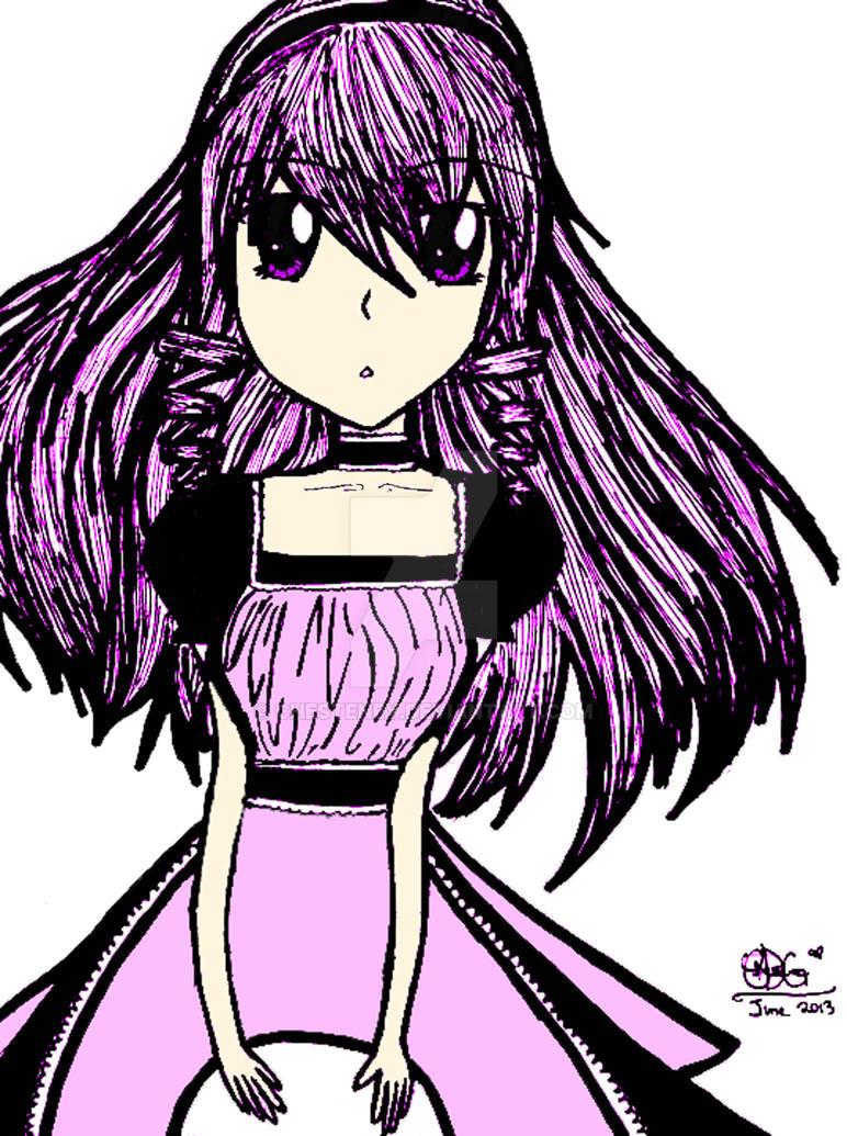 Hitomi Kazuya ~ The Maid by chesteney