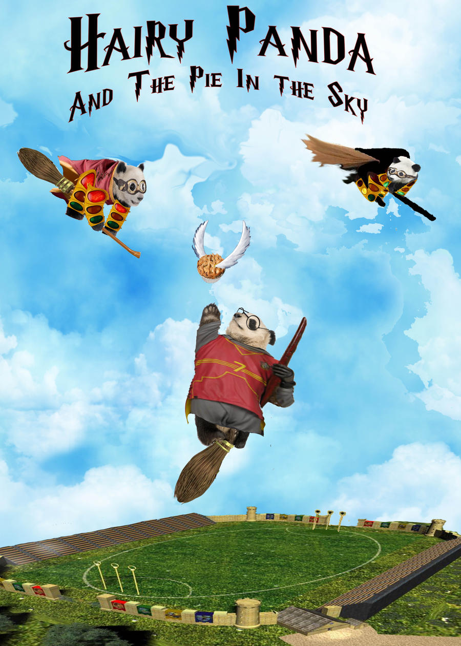 Hairy Panda and Pie in the Sky by DarrenStein on DeviantArt