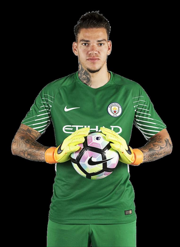 e504467db Ederson Moraes Manchester City 2017 18 Render by Dubstrillex on ...