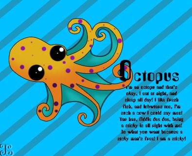Octopus by jaylakokora