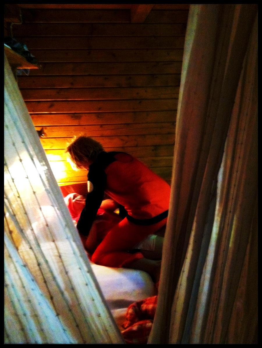 NaruSaku-on the bed by SakuIta222 on deviantART