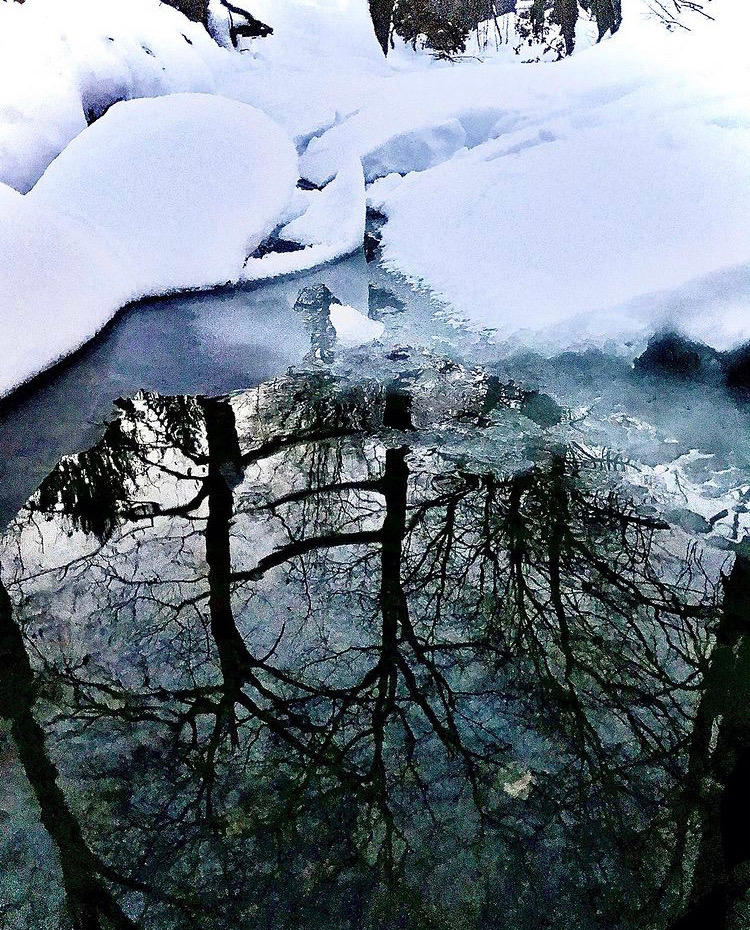 Portal Through the Ice and Snow