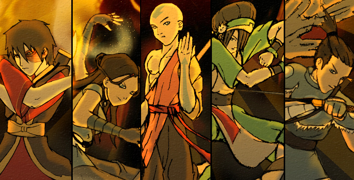 Avatar The Last Airbender Wallpaper Characters Download
