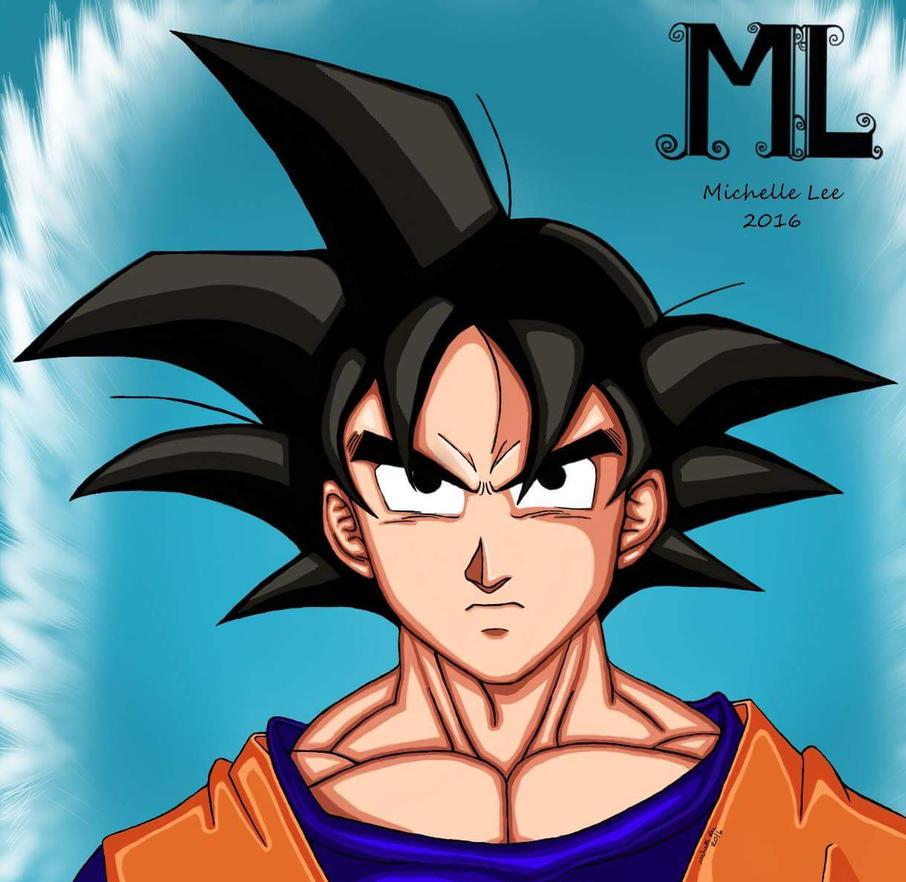 Goku by angelsimaren