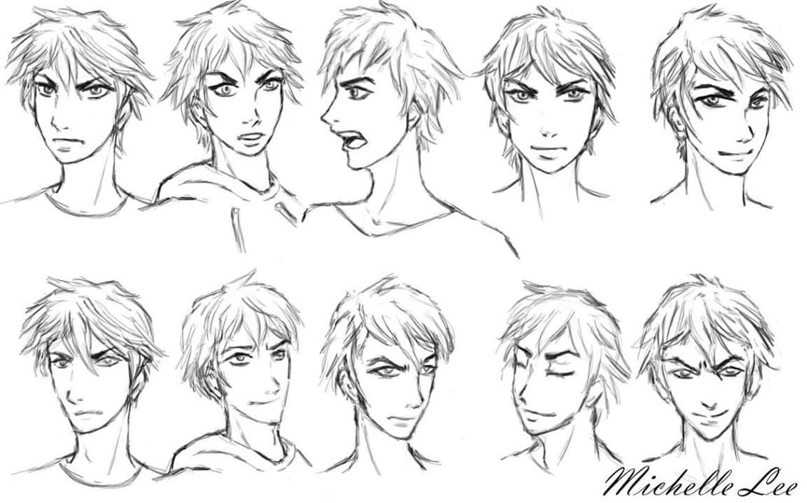 Character Expressions by angelsimaren
