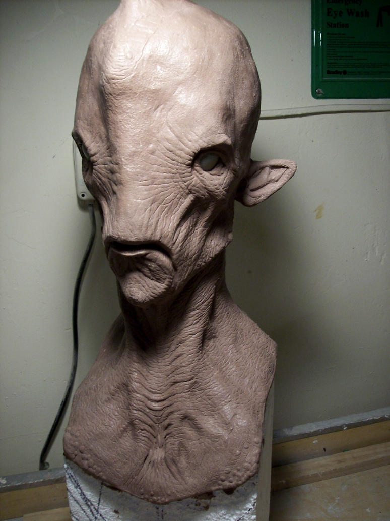 1:1 Scale Creature Design Bust by misfitjake