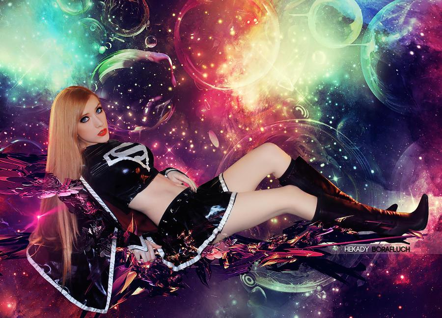 Sexy Dark SuperGirl Cosplay by Hekady on DeviantArt