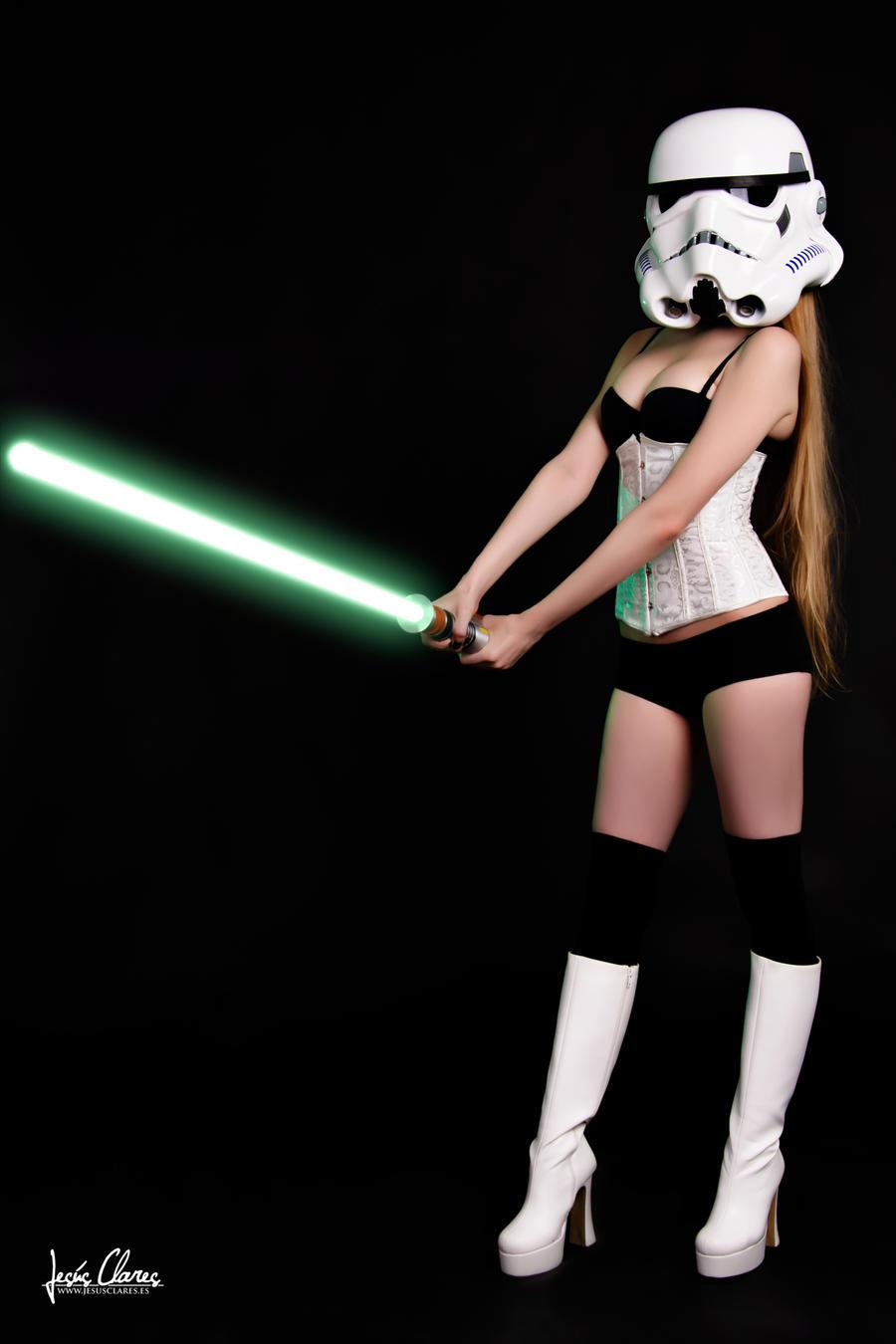 Sexy StarWars Stormtrooper by Hekady