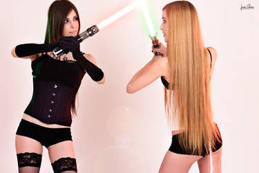 Which side are you on? Sexy Star Wars by Hekady