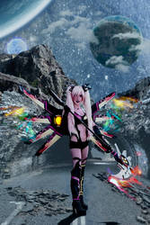 Hyperdimension Neptunia CFW Cosplay