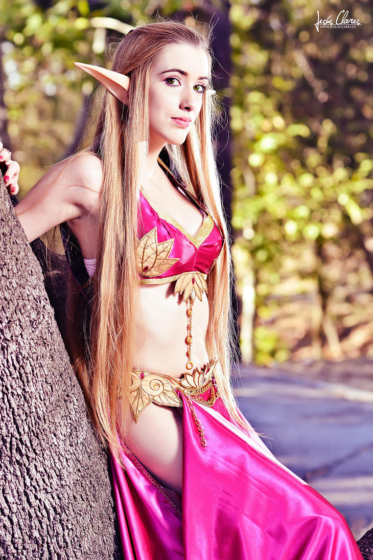 Blood Elf Cosplay wow by Hekady