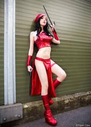 Elektra from Marvel Cosplay