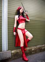 Elektra from Marvel Cosplay by Hekady