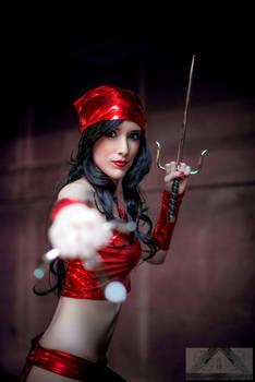 Elektra Cosplay Marvel