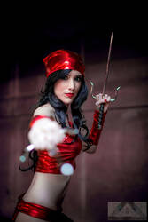 Elektra Cosplay Marvel by Hekady