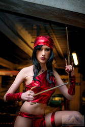 Elektra Marvel Cosplay - Hekady by Hekady