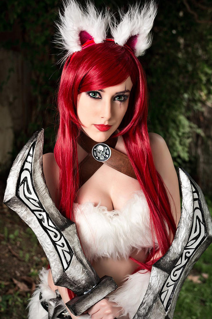 Kitty Cat Katarina Minina Cosplay by Hekady