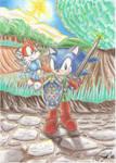 Sonic - Link y Tails - Navi by franikku