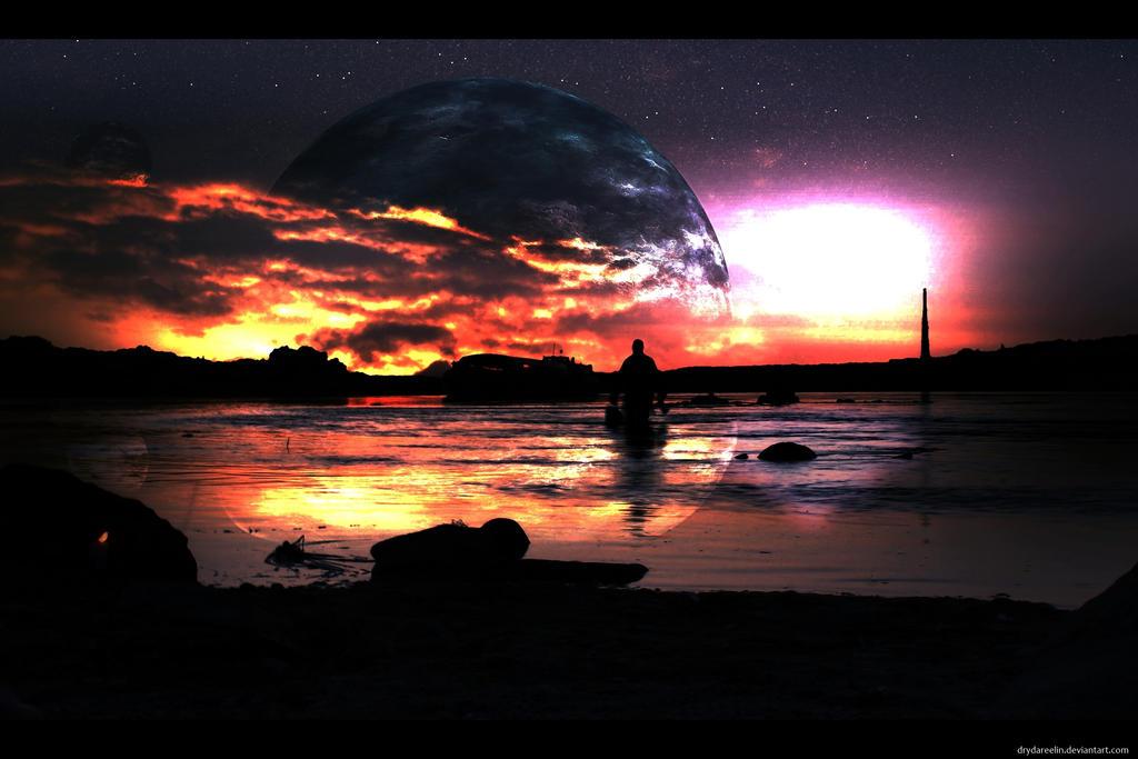 Moon Rising by Drydareelin