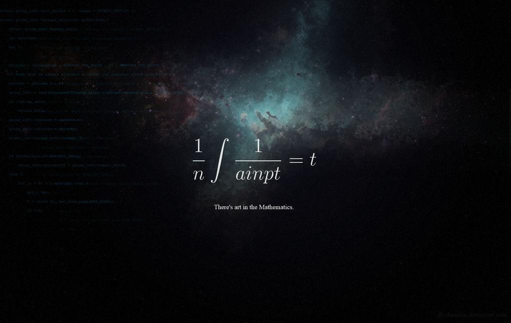 Art in the Mathematics