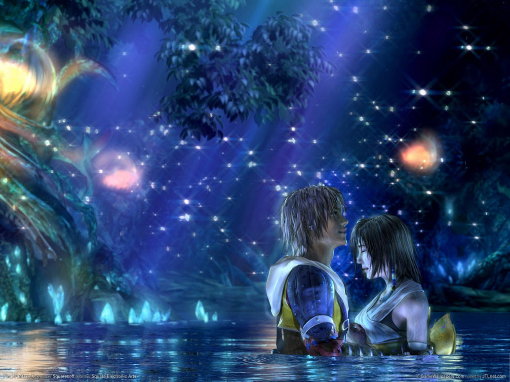 tidus_and_yuna_in_macalania_by_igbf.jpg