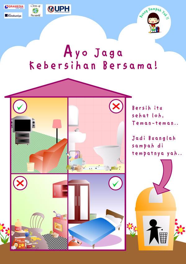 Buang Sampah Yuk Poster by inuSyubidum on DeviantArt