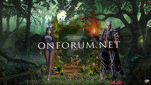 Interface metin2 -Magical Forest -