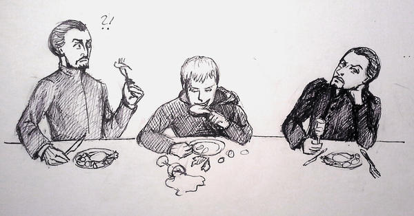 The Dinner of the Master by Totally-Exterminated