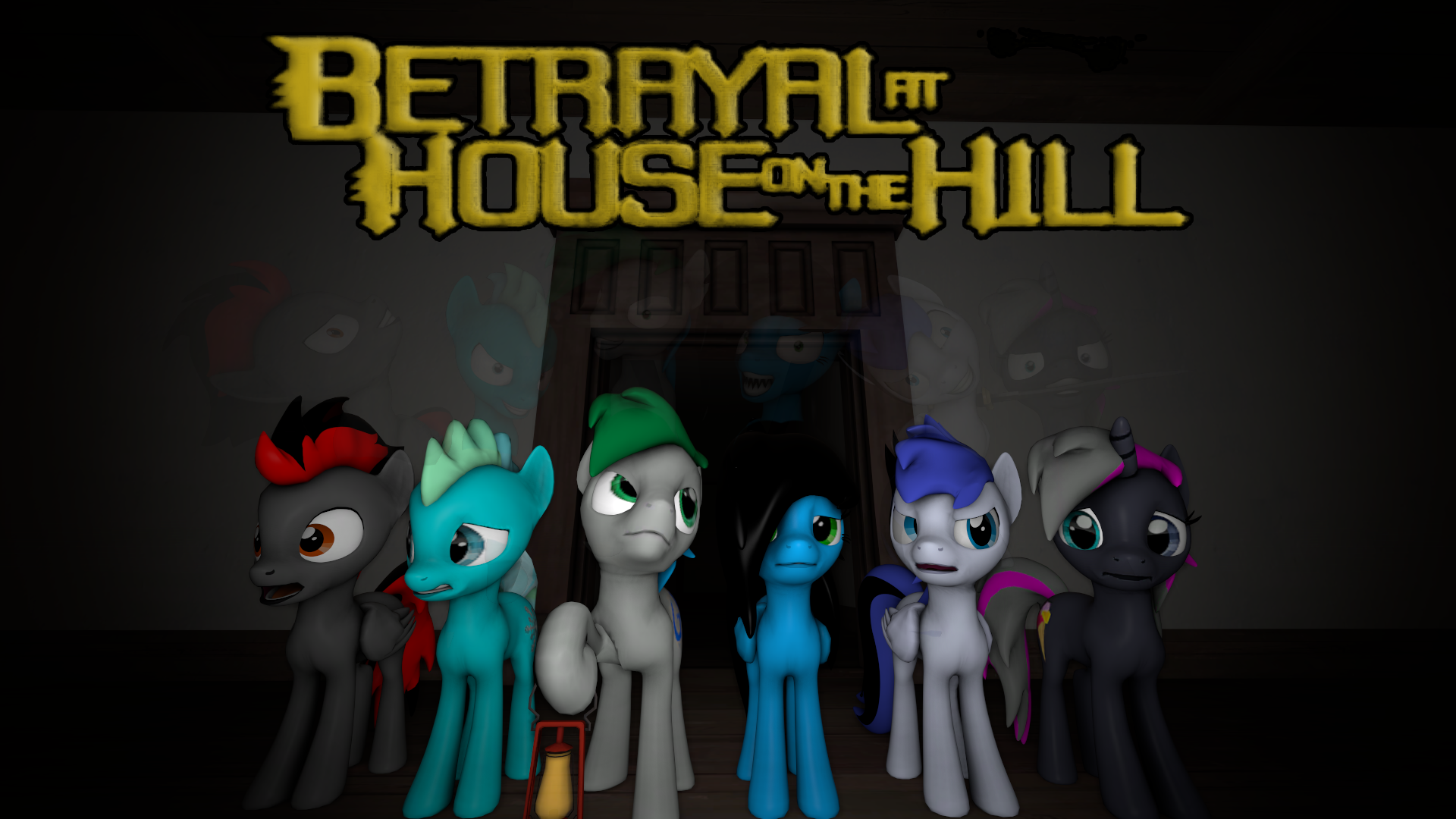 Betrayal at House on the Hill (Intro Card) by GameAct3
