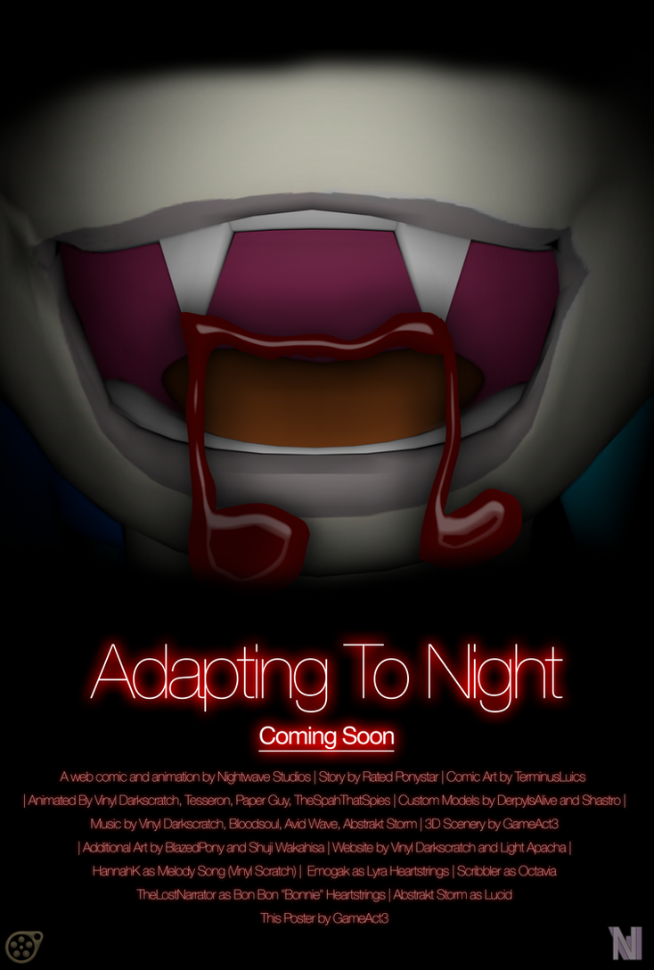 Adapting To Night Poster by GameAct3