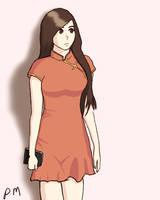 Red Dress by Poribo