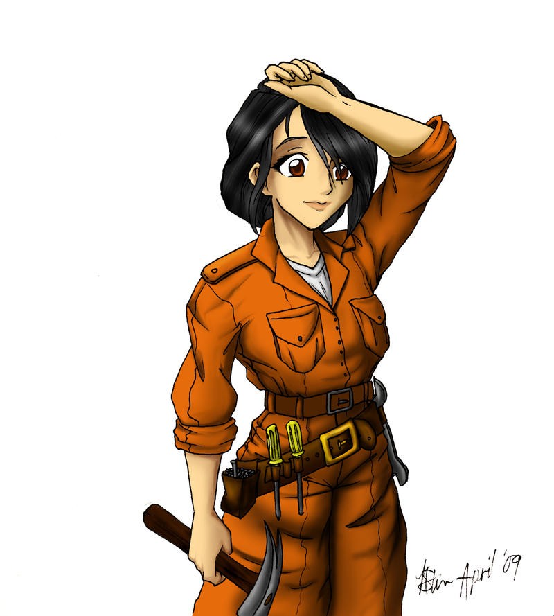 Robotech RPG Character Sayoko1 by nikkigurlie89