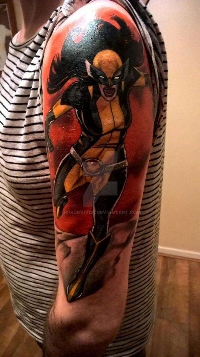 X-23 Tattoo by brsurvivor