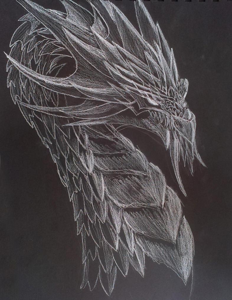 Dragon Sketch by Edji
