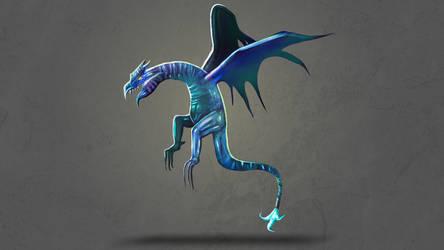 Dragon 10 by witlesswyrm