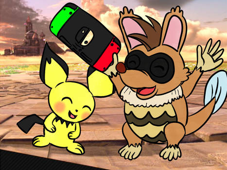 Nukky Mains Pichu in Ultimate