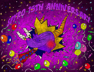 Spyro 15 Anniversary Full - Special Pic by 920316player