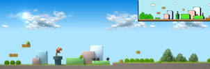 Super Mario Bros. 3 Half Stage 3D