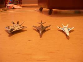 Three DA Aircraft