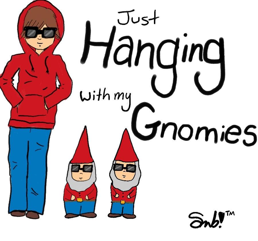 Gnome In Garden: Just Hanging With My Gnomies By Ttlywinket On DeviantART