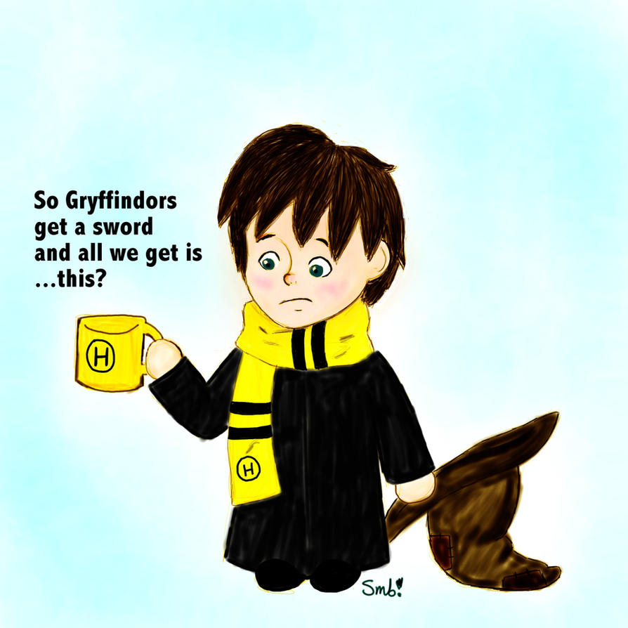 it sucks to be a hufflepuff by ttlywinket